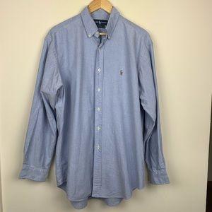 Ralph Lauren Yarmouth 100% Cotton 16 1/2-35
